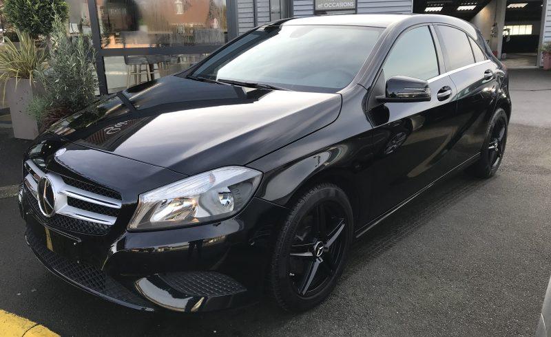 Mercedes Classe A dans la Manche